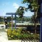 Felújított park átadáskor 1998
