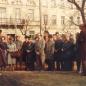 Károlyi kert - átadási ünnepség - '80-as évek eleje