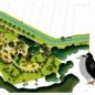 Állatos játszótér terve (forrás: Építészfórum)