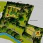 Nagy csúszdás játszótér terve (forrás: Építészfórum)
