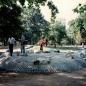 Köztársaság tér - játszótér átadás előtt - 1996