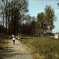 Tribün melletti ösvény a '80-as években